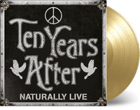 Ten Years After - Naturally Live [Colored Vinyl] (Gol) [Limited Edition] [180 Gram]