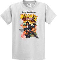 Rudy Ray Moore - Dolemite Original Poster Art White Unisex Short Sleeve T-shirt Large