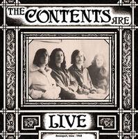 Contents Are - Live Davenport Iowa 1968