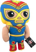Funko Pop! Plush: - FUNKO POP! PLUSH: Marvel Luchadores- Captain Marvel 17.5