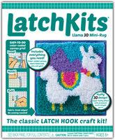 Latchkits Llama 3-D Mini Rug Latch Hook Craft Kit - Latchkits Llama 3-D Mini Rug The Classic Latch Hook Craft Kit!