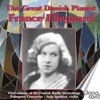 France Ellegaard - Great Danish Pianist