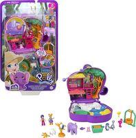 Polly Pocket - Mattel - Polly Pocket Big Pocket World Elephant Zoo Compact