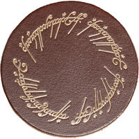 Other - WETA Workshop - Lord Of The Rings - The One Ring (Leather Coaster Set of 4)