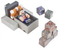 """Minecraft - Mattel Collectible - Minecraft 3.25"""" Scale Minecart Mayhem"""
