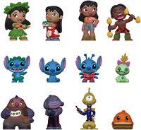 Funko Mystery Mini: - FUNKO MYSTERY MINI: Lilo & Stitch (ONE Random Mystery Mini Figure Per Purchase)