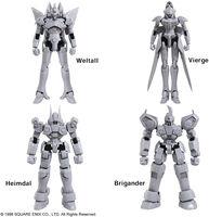 Square Enix - Square Enix - Xenogears Structure Arts 1/144 Model Kit Ser Vol 1 4Piece DS