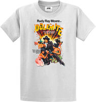 Rudy Ray Moore - Dolemite Original Poster Art White Unisex Short Sleeve T-shirt XXL