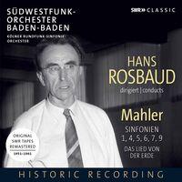 Hans Rosbaud - Rosbaud Conducts Mahler (Box)