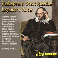 Richard Burton / Olivier,Laaurence / Welles,Orson - Great Shakespeare Speeches: Legendary Voices