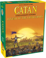 Catan: Legend of Conquerers Cities & Knights Scn - Catan: Legend Of The Conquerers Cities & Knights Scenario