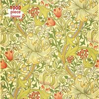 Flame Tree Studio - Adult Jigsaw Puzzle William Morris Gallery: Golden Lily: 1000-pieceJigsaw Puzzle