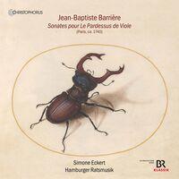 Barriere / Eckert / Hamburger Ratsmusik - Sonates Pour Le Pardessus