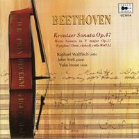 RAPHAEL WALLFISCH - Sonata In A Major Op 47