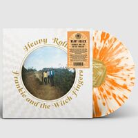 Frankie and the Witch Fingers - Heavy Roller [Indie Exclusive Limited Edition Tangerine Creamsicle Heavy Splatter LP]