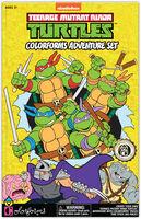 Colorforms Teenage Mutant Ninja Turtles Adventure - Colorforms Nickelodeon Teenage Mutant Ninja Turtles Retro Colorforms Adventure Set