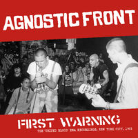 Agnostic Front - First Warning [LP]