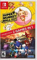 Swi Sonic Forces + Super Monkey Ball: Banana Blitz - Sonic Forces + Super Monkey Ball: Banana Blitz for Nintendo Switch