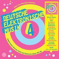 Soul Jazz Records Presents Deutsche Elektronische - Deutsche Elektronische Musik 4 - Experimental German Rock and  German Rock and Electronic Music 1971-83