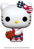 Funko Pop! Sanrio: - FUNKO POP! SANRIO: Hello Kitty Sports Team USA - Basketball Hello Kitty