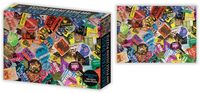 Concert Backstage Passes Collage 1K PC Puzzle - Concert Backstage Passes Collage 1000 Pc Jigsaw Puzzle