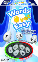 Words Over Easy - Words Over Easy An Egg-citing way To Scramble For Words!