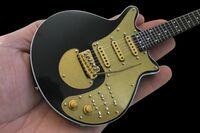Brian May - Brian May Queen Gold Special Mini Guitar (Clcb)