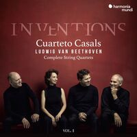 Cuarteto Casals - Beethoven: Complete String Quartets 1