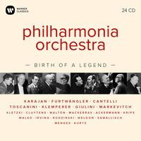 Philharmonia Orchestra - Philharmonia Orchestra: Birth Of A Legend 24cd