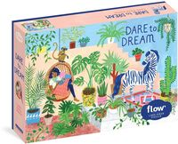 Hulst, Astrid Van Der / Smit, Irene - Dare to Dream 1,000-Piece Puzzle: Flow for Adults Families Picture Quote Mindfulness Game Gift Jigsaw
