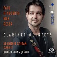 Hindemith / Soltant / Utrecht String Quartet - Clarinet Quintets