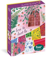 Hulst, Astrid Van Der / Smit, Irene - Free to Just Be 1,000-Piece Puzzle: Flow for Adults Families Picture Quote Mindfulness Game Gift Jigsaw