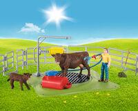 Schleich - Schleich Happy Cow Wash (Fig)