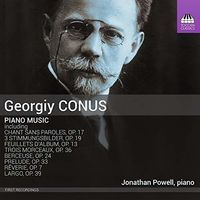 Jonathan Powell - Piano Music
