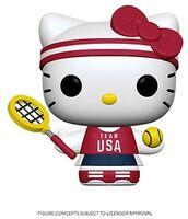 Funko Pop! Sanrio: - FUNKO POP! SANRIO: Hello Kitty Sports Team USA - Tennis Hello Kitty