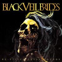 Black Veil Brides - Re-Stitch These Wounds [Ultra Clear w/ Neon Yellow & Black Splatter LP]