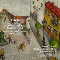 J Bach S / Pinnock - Goldberg Variations