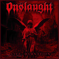 Onslaught - Live Damnation [Clear Vinyl] (Uk)