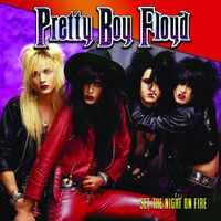 Pretty Boy Floyd - Set The Night On Fire [Colored Vinyl] [Limited Edition] (Pnk) (Red)