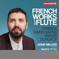 Adam Walker - French Works for Flute