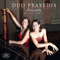 Piazzolla / Duo Praxedis - Fur Harfe & Klavier (2pk)