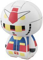 Rubiks Charaction - Bandai America - Rubik's Charaction Cube Puzzle MS Gundam, RX-78-2Gundam