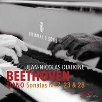 Beethoven / Diatkine - Piano Sonatas 7 / 23 / 28