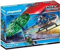 Playmobil - City Action Police Parachute Search (Fig)