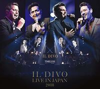 Il Divo - Live At The Budokan 2018 (W/Dvd) (Ltd) (Jpn)