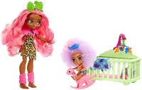 Cave Club - Mattel - Cave Club Babysitter 2-Pack, with Fernessa & Furrah Dolls