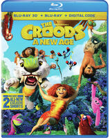 The Croods [Movie] - The Croods: A New Age [Blu-ray 3D + Blu-ray + Digital Combo Pack]