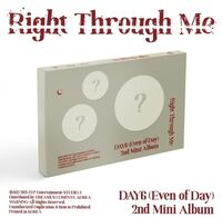 Day6 (Even Of Day) - Right Through Me (Stic) (Pcrd) (Phob) (Phot)