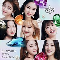 Oh My Girl - Oh My Girl Japan 2nd Album (Version A) (CD + DVD Incl. Photocard)