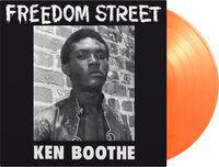 Ken Boothe - Freedom Street [Limited 180-Gram Orange Colored Vinyl]
